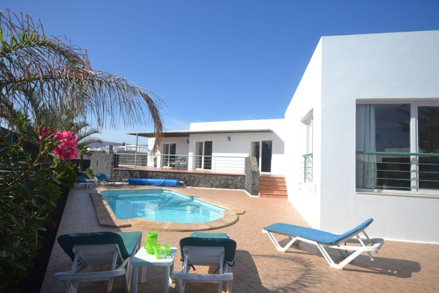 Lanzarote 3 Bedroom Villa Rentals